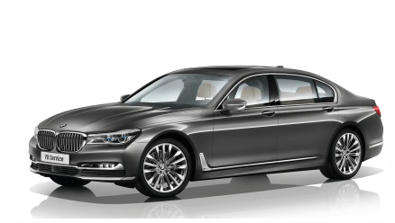 First Class BMW 7 or Similar